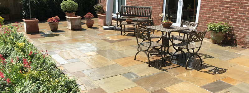 Block Paving Patio in East Grinstead, Horsham, Horley, Reigate, Redhill, Dorking, Surrey & Sussex